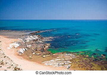 Scala dei Turchi, Sicily - Scala dei Turchi beach, Sicily