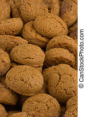 Pepernoten (gingernuts) Dutch biscuits specialty for...