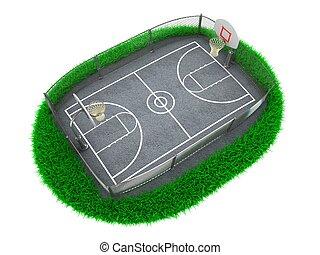 3D Concept Basketball Arena