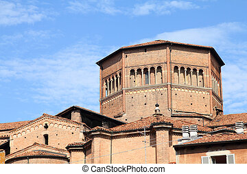 Piacenza Cathedral - Piacenza, Italy - Emilia-Romagna region...