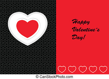vector card for valentine´s day