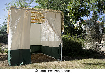 Jewish Festival of Sukkot - A Sukkah for the Jewish festival...