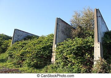 second world war ruins