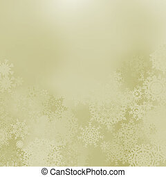 Glittery elegant Christmas background. EPS 8 vector file...