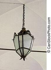 Old lantern in Venice, Italy