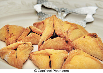 Purim Jewish Pastry Hamantashen - A hamantash is a pastry in...