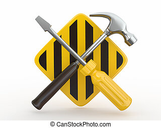 Utility Tools, screwdriver and hammer - Utility Tools,...