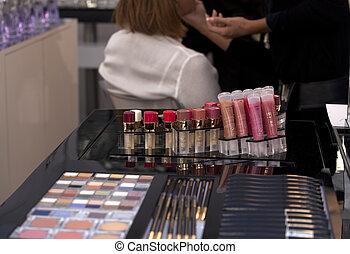 Make up - Photo of a make up laboratory