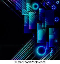Abstract colourful background from