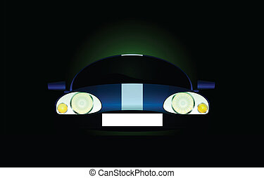 sport car - Abstract sport car vector
