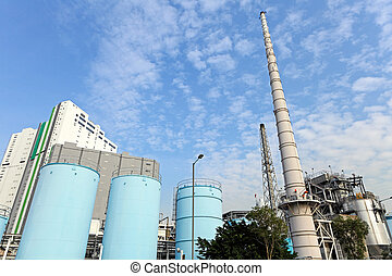 industrial plant