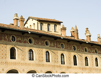 Palazzo Ducale in Vigevano, Pavia - Italy