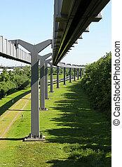 Skytrain mono rails