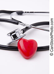 Stethoscope and heart 3