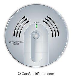 Detectors illustraties en clip art zoek onder 933 detectors beschikbare royalty vrije - Rookdetector ontwerp ...