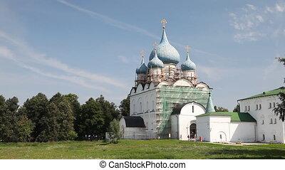 Kremlin in Suzdal - Suzdal , Russia