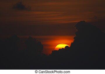 ROMANTIC SUNSET - Sunset in Indian Ocean