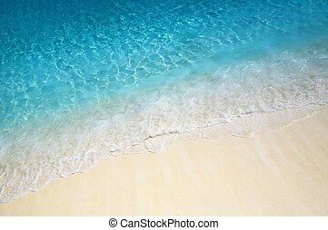 Water ripples near the shore - Nice blue water ripples near...