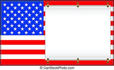 Flag USA - Flag of the United States of America On a flag...