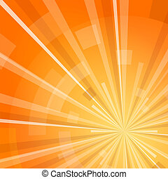 Digital Shine - Yellow and Orange digital shine with...