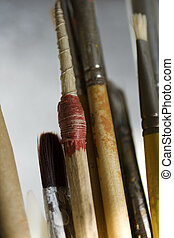 Paintbrushes - Tiralinee bolognese and other paintbrushes