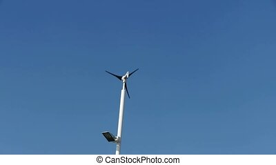 Wind power,street lighting