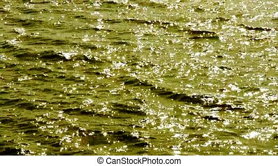 Sparkling Water surface.
