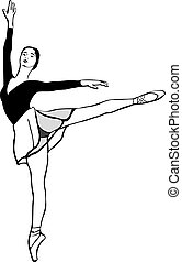 6 sketch of a ballerina on pointe in arabesque position(1).jpg