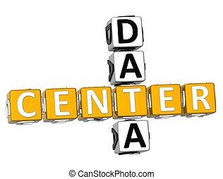 3D Center Data Crossword