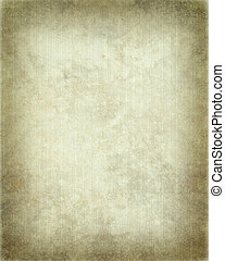 Ribbed Parchment with Frame