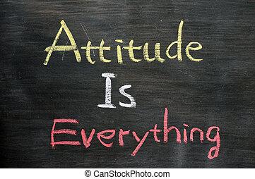 actitud, todo