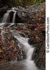 Waterfalls - Waterfall at Troodos mountains in Cyprus