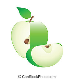 One more green apple