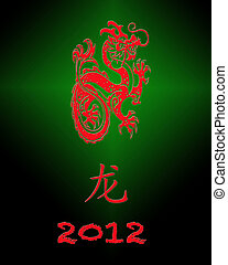 2012 Year of the dragon.