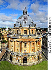 The Radcliffe Camera, Oxford - The landmark Radcliffe Camera...