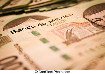 pesos backround - mexican pesos bills backround