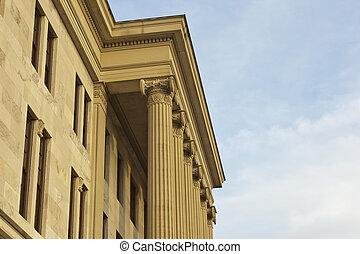 TN State Capital - Tennessee State Capital building located...