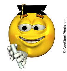 graduado, Emoticon