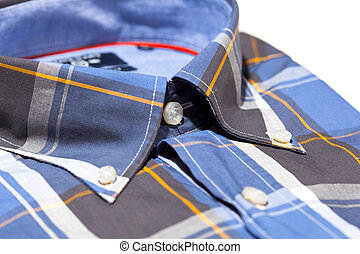 Close-up collar mens shirts