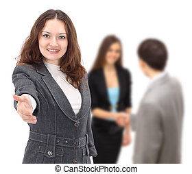 image of a self-confident busines - The image of a...