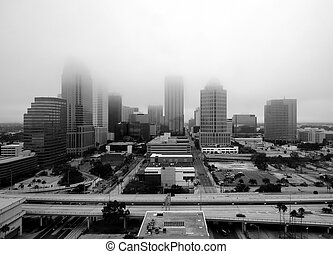 Tampa in the Fog - Tampa, Florida in the Fog