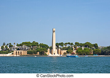 Monument to the Italian sailor, Brindisi - Italy