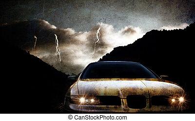 grungy, 自動車