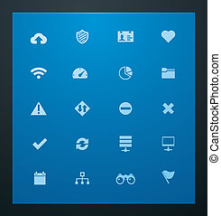 Universal glyphs 8. Web icons