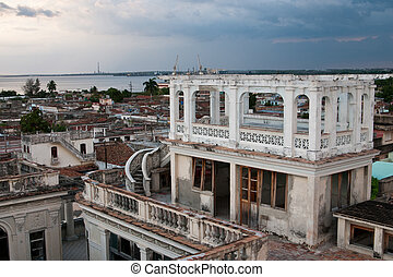 Cienfuegos architecture, Cuba - Cuba - colonial town...