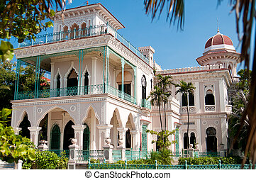 Beautiful Palace In Cienfuegos - Beautiful palace exterior...