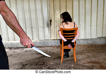 Knife Hostage