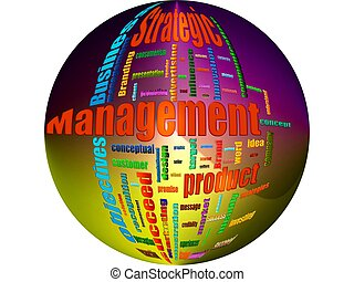 Strategic Management Related Text Design Element as word...