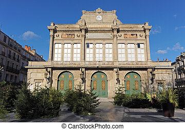 Beziers theater - picture of the municipal Theater of...