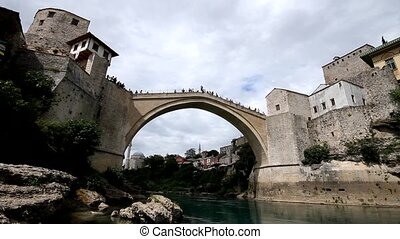 Old bridge in Mostar, BiH